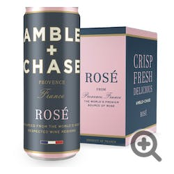 Amble & Chase Rose 2018 4-250ml Cans