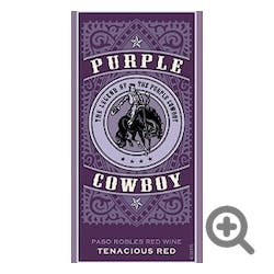 Purple Cowboy Tenacious Red Red Blend 2018