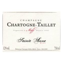 Chartogne Taillet Cuvee St. Anne Merfy NV image