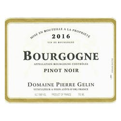 Pierre Gelin Bourgogne Cote d'Or Rouge 2018 image