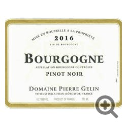 Pierre Gelin Bourgogne Cote d'Or Rouge 2018