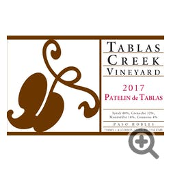 Tablas Creek 'Patelin Rouge' Red Blend 2017