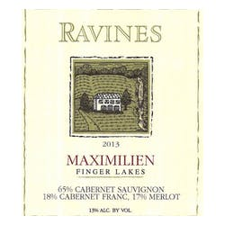 Ravines Wine Cellars 'Maximilien' Red Blend 2016 image
