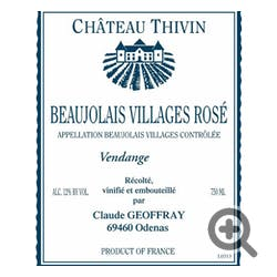 Chateau Thivin Beaujolais Villages Rose 2018
