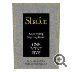 Shafer 'One Point Five' Cabernet Sauvignon 2017