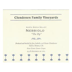 Clendenen Family Vineyards Nebbiolo 'PIP' 2015 image