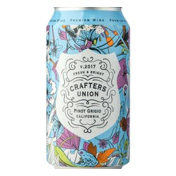 Crafters Union Pinot Grigio 375ml Cans image