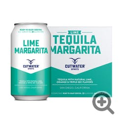 Cutwater Spirits Lime Tequila Margarita 4-355ml Cans