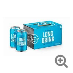Long Drink Cocktails Traditional 6-355ml Cans