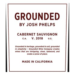 Grounded by Josh Phelps Cabernet Sauvignon 2018 image