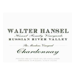 Walter Hansel 'The Meadows' Chardonnay 2018 image