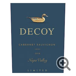 Decoy 'Limited' By Duckhorn Cabernet Sauvignon 2018