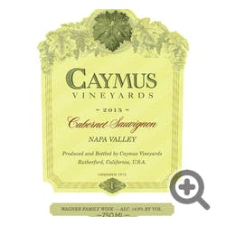 Caymus Vineyards Cabernet Sauvignon 2018 3.0L