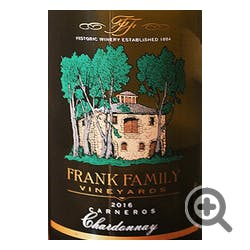Frank Family Vineyards Chardonnay 2018