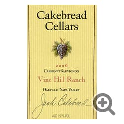 Cakebread Cellars Vine Hill Ranch Cabernet 2017