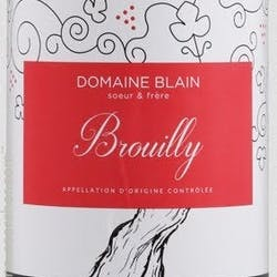 Domaine Blain Soeur & Frere Brouilly 2018 image