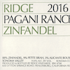 Ridge Vineyards 'Pagani Ranch' Zinfandel 2018