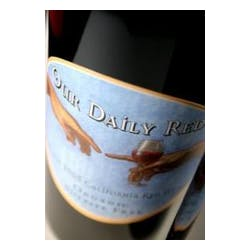 Our Daily Red California Red Wine 2005 image
