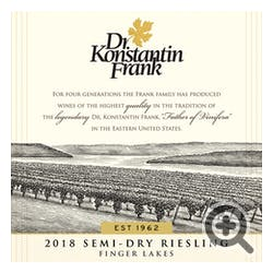 Dr. Frank 'Semi Dry' Riesling 2019