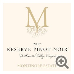 Montinore 'Reserve' Pinot Noir 2017