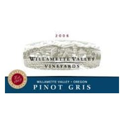 Willamette Valley Vineyards Pinot Gris 2009 image