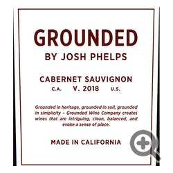 Grounded by Josh Phelps Cabernet Sauvignon 2019