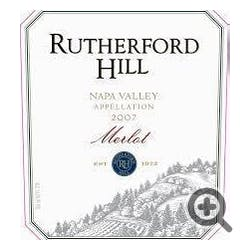 Rutherford Hill Winery Merlot 2018