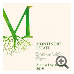 Montinore 'Almost Dry' Riesling 2019