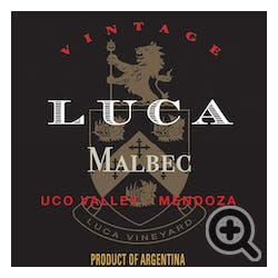 Luca 'Uco Valley' Malbec 'Old Vine' 2018
