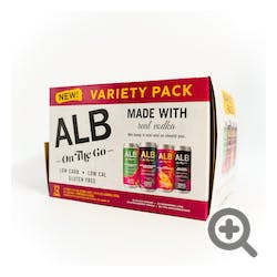 ALB On The Go Variety Pack 12-355ml Cans