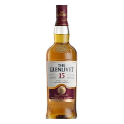 Glenlivet FrenchOak 15yr Single Malt Scotch 750ml image