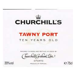 Churchill's Tawny Port 10 Yr Old  500ml image