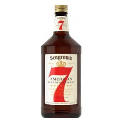 Seagram's 7 Crown Canadian Blended Whisky 1.75L image