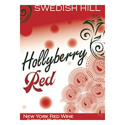 Swedish Hill 'Holiday Series' Hollyberry Red image