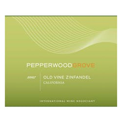 Pepperwood Grove Old Vine Zinfandel NV image