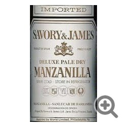 Savory & James 'Manzanilla' Pale Dry Sherry