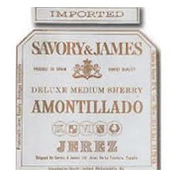 Savory & James 'Amontillado' Medium Sherry image