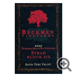 Beckmen Vineyards 'Block 6' Syrah 2006