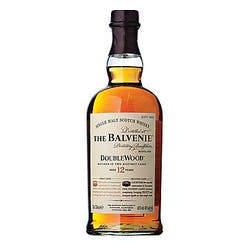 Balvenie 12year 'Doublewood' Single Malt Scotch 750ml image