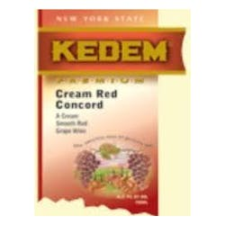 Kedem Cream Red Concord 1.5L image