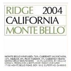 Ridge Vineyards 'Monte Bello' Cabernet Merlot 2004 image