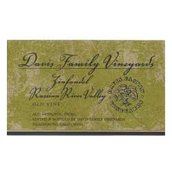 Davis Family Vineyards Zinfandel 2008 image