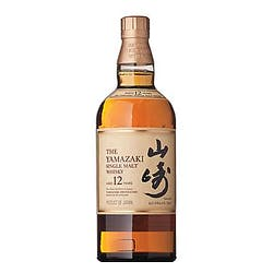 Suntory Yamazaki 12yr 86 Proof Single Malt Whisky 750ml image