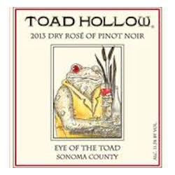 Toad Hollow 'Eye of the Toad' Pinot Noir Rose 2014 image