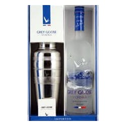 Grey Goose With Shaker 750ml Gift Set image