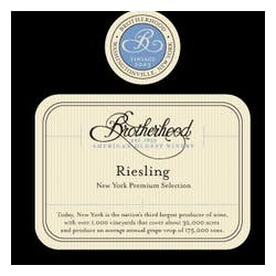 Brotherhood Winery Riesling 1.5L image