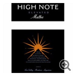 High Note 'Elevated' Malbec 2013