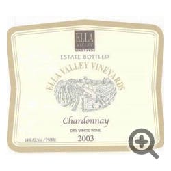 Ella Valley Vineyards Chardonnay 2009
