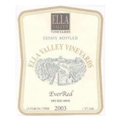 Ella Valley Vineyards Ever Red 2007 image