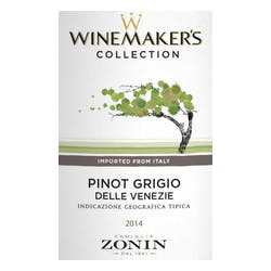 Zonin 'Winemaker's Collection' Pinot Grigio IGT 2017 image